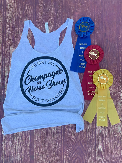 Champagne and Horse Shows