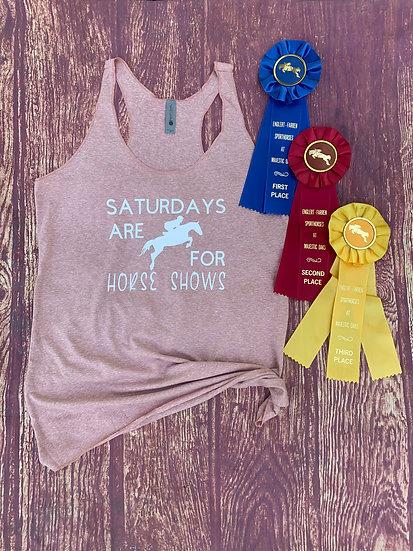 Saturday Horse Show