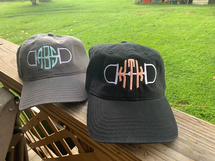 Monogram Bit hat