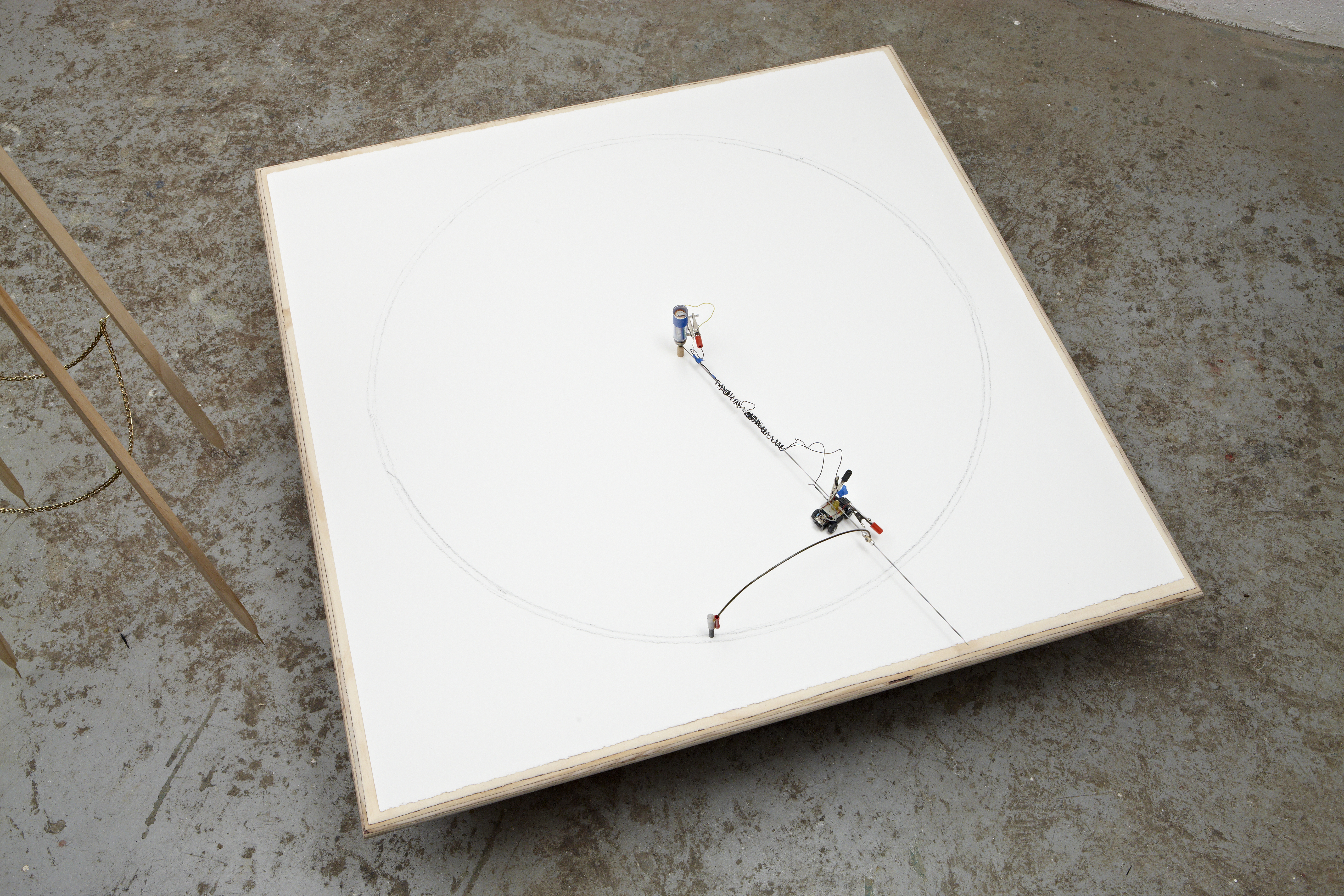 untitled (square-to-circle), 2010