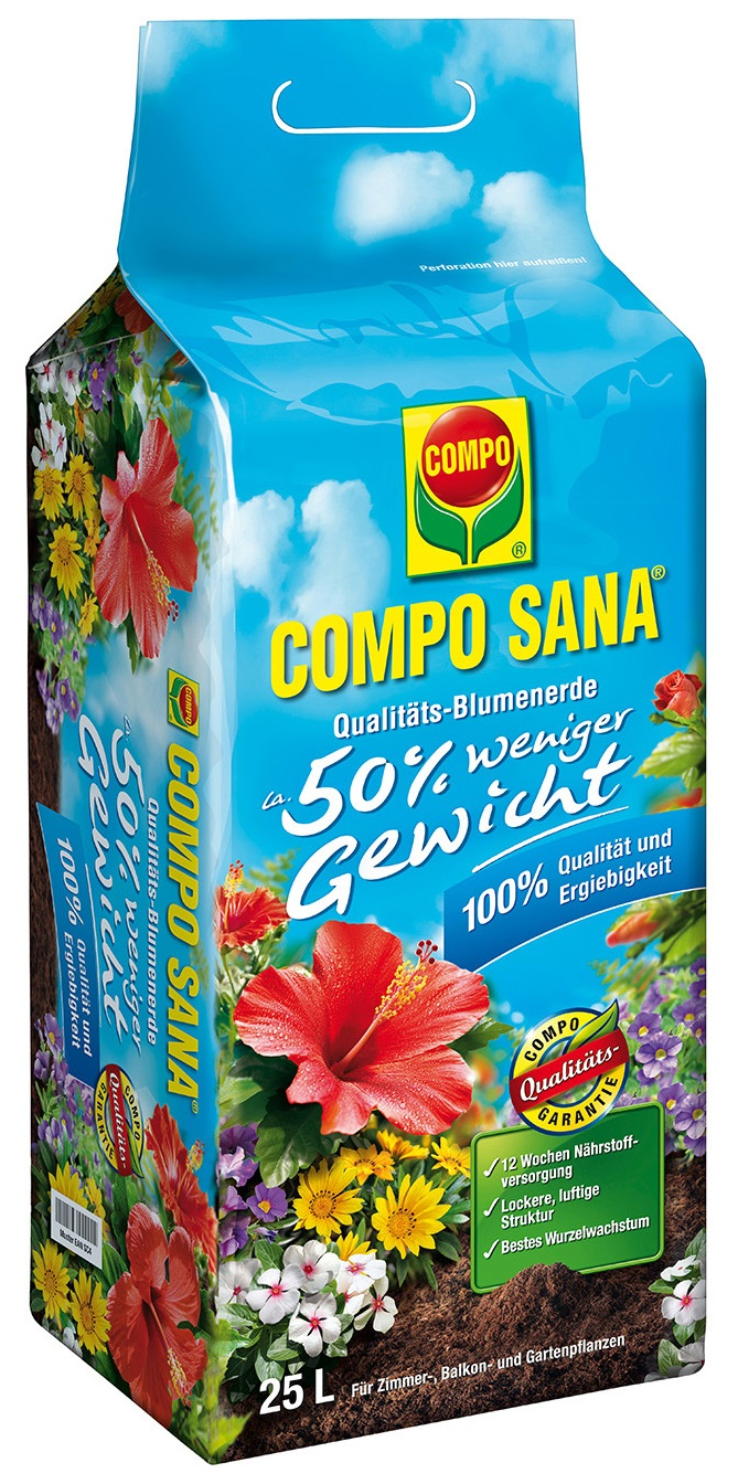 COMPO Universal Potting Soil, 25L