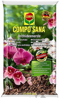 COMPO SANA® Potting Soil for Orchids, 5L
