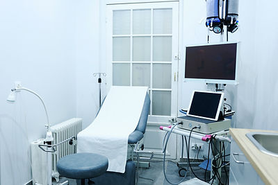 Salle d'hystéroscopie diagnostique