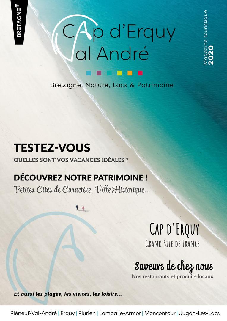 Magazine Cap d'Erquy Val André 2020