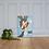 Thumbnail: Thugz Bunny Canvas Print