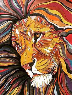 'Lion of Unity' 11_ x 14_ Ink on Bristol