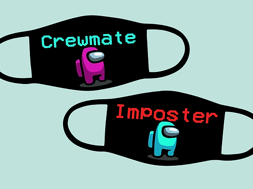 Crewmate and Imposter Mask