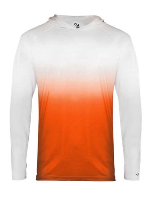 Ombre - Hooded Shirt Long Sleeve