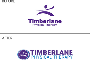 Timberlane Physical Therapy Logo Before
