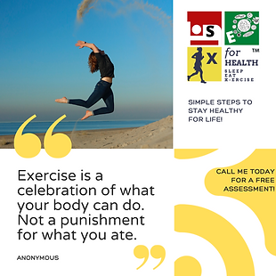 simple steps to stay healthy for life! (
