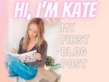 My very first BLOG POST ⭐️