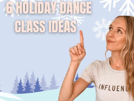 ONLINE Holiday Dance Class Ideas 🎄 ⭐️