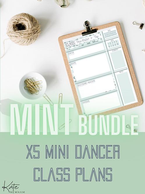 MINT - Mini Dancer Bundle X5