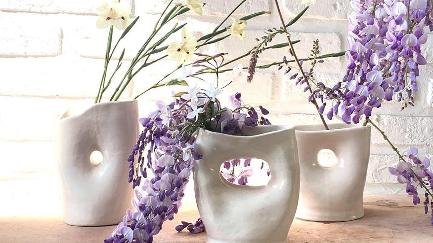 organic vase form