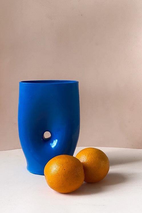 Flower Vase form: Blue Savanah (alto)