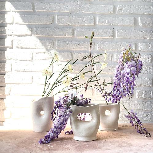 organic flower vases form 3