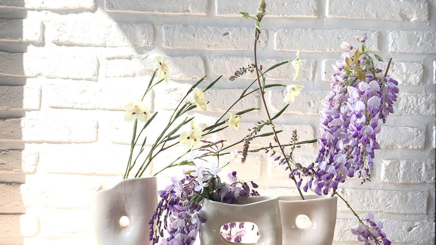 flower vase form 3,4 & 5