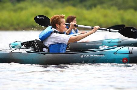 Kayak workout
