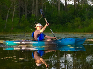 Summary of Kayaking Class June 2018