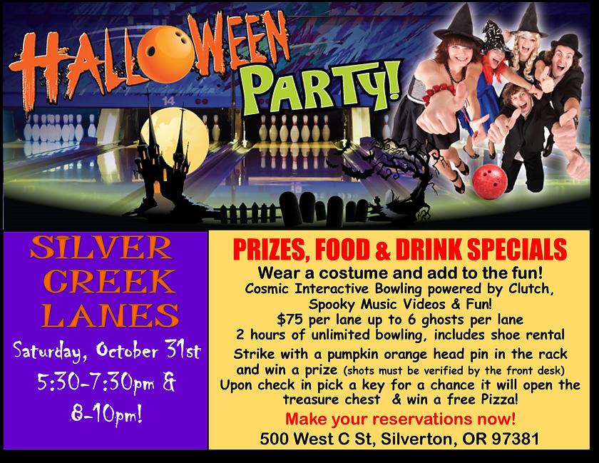 Halloween flyer evening  2020 horizontal