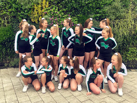 Competitive cheerleading teams