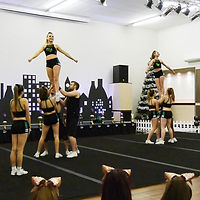 Teen fitness through cheerleading at Momentum Cheer