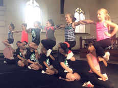 Recreational cheerleading classes