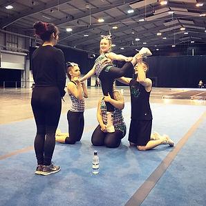 Momentum Rise paracheer stunt grassroots inclusive cheerleading