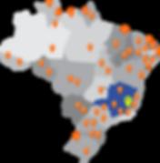 Atendemos todo Brasil