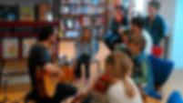Atelier découverte des cordes / Médiathèque de Sixt sur Aff