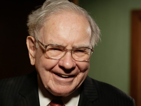 Warren Buffet is pointing to 'elevated risks' for the markets