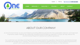 One Environmental - industrial cleaning