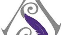 Art & Soul logo pin badge