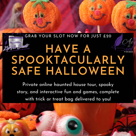 Have a Spooktacularly safe Halloween in 2020!