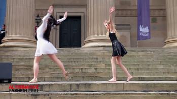 Girls Performing