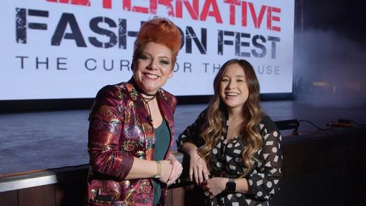 Vicky talks to Ava Bambico