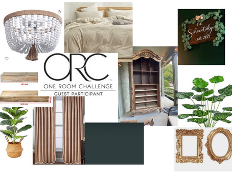 One Room Challenge Week One