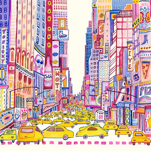 """New York"" print"