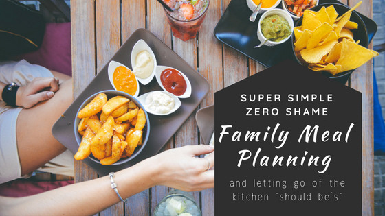 Super Simple Family Meal Planning