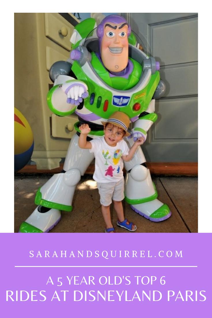 A 5 year olds top 6 rides at Disneyland Paris