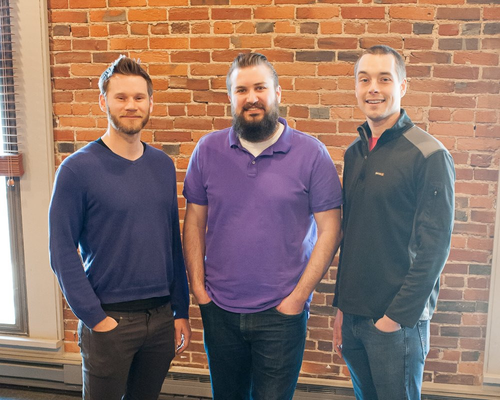 Woven Co-Founders (left to right): Wes Winham, Kyle Shipley and Anthony Panozzo