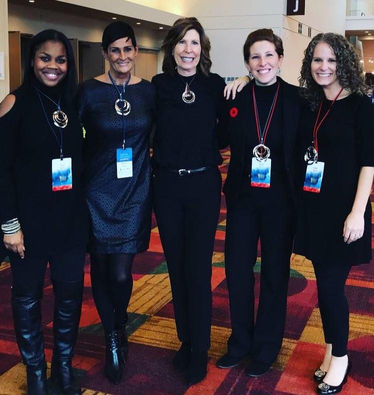 (L to R) Women's Group: Jimia Smith, Rhonda Beiswanger, Kathy Blyze, Emily Blyze, Amber Miller