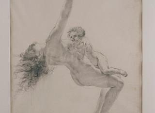 Scène de Déluge(s) chez Girodet: focus sur l'exposition-dossier présentée au Salon du dessin