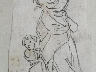 Sur deux dessins d'Hubert Robert