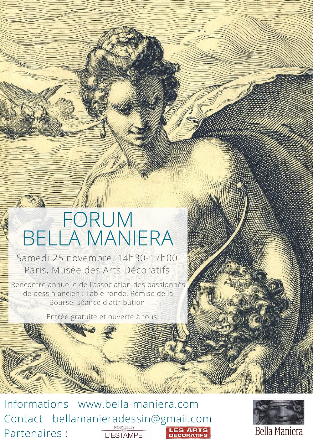 Affiche Forum Bella Maniera 2017