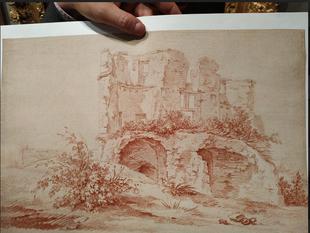Visite de la galerie Terrades à Paris