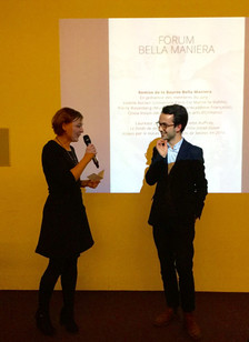 Antoine Chatelain, Lauréat de la Bourse Bella Maniera en 2017