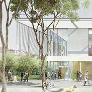 Véronique Joffre Architecture - Bibliothèque, ludothèque, MJC, Espaces Jeunes & Seniors - Saint-Jean