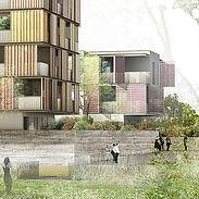 Véronique Joffre Architecture - Zac Andromède Blagnac Ilot 56