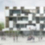Véronique Joffre Architecture - Réhabilitation du collège Louisa Paulin Muret
